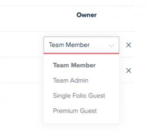change user roles